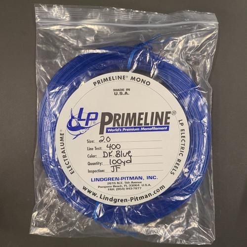 Lindgren Pitman Primeline Monofilament Coil - 100yd - 400lb Test - Blue