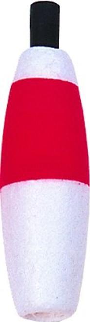 Billy Boy Foam Cigar Peg Float 100Bag 2-1/2 Red/White (B2B-RW)