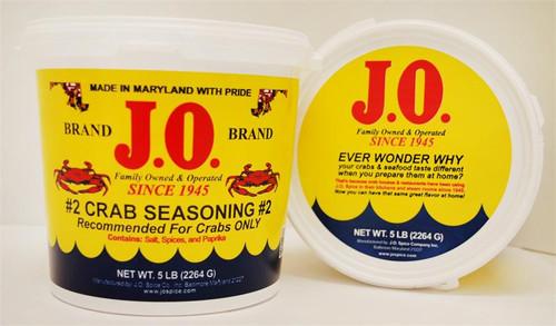 "J.O. Spice No. 2 ""Crab House Spice"" 5LB Bucket"