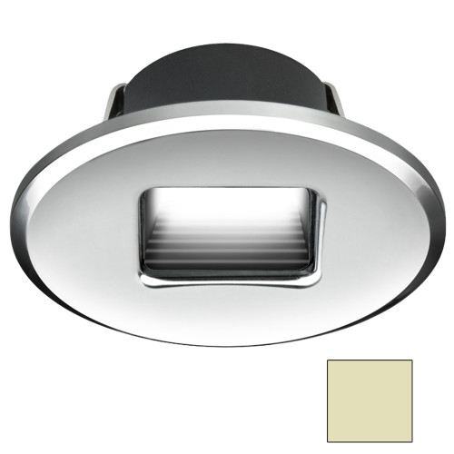 I2Systems Ember E1150Z Snap-In - Polished Chrome - Oval - Warm White Light