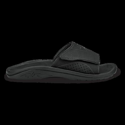 Olukai Nalu Slide Sandal - Mens - Black