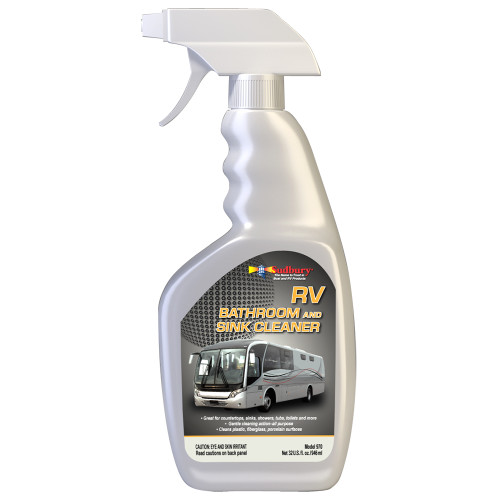 Sudbury RV Bathroom  Sink Cleaner Spray - 32oz