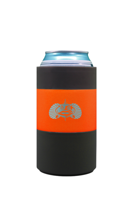 Toadfish Non-Tipping Can Cooler - Orange