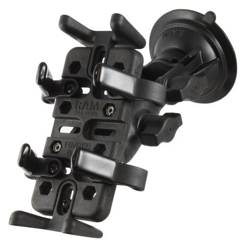 RAM Mount RAM Finger-Grip Universal Mount w\/RAM Twist-Lock Suction Cup