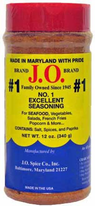J.O. Spice No. 1 Seafood Seasoning 12 oz Shaker