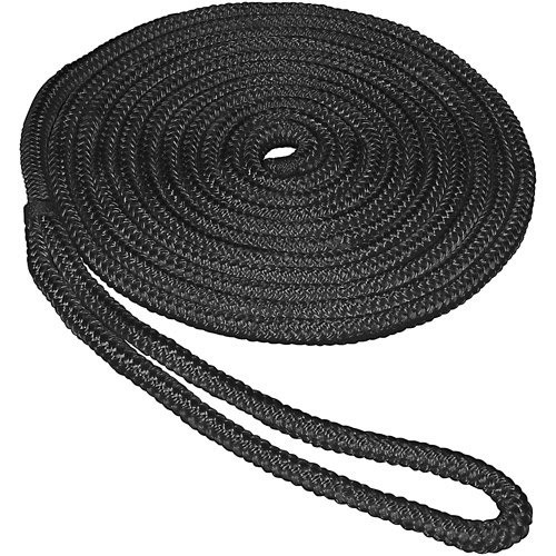 Unicord Premium Double Braid Nylon Dock Lines can be stored wet, are highly resistant to rot, and chemicals, and will not rotate, kink or hockle under a load.