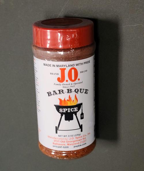 J.O. Spice Bar-B-Que Crab Spice 8 oz Shaker