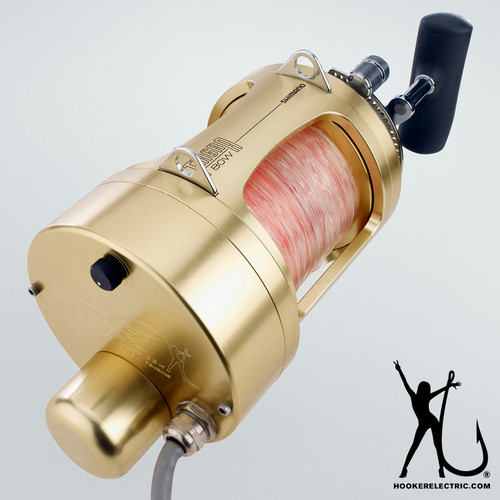 Hooker Electric for Tiagra 80 Standard. Includes Shimano® Tiagra® 80A Installed