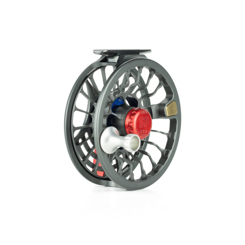 Seigler Fly Reel - Small Fly (SF)- Red/White/Blue RH