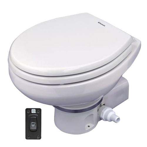 Dometic MasterFlush MF 7260 Macerator Toilet - White