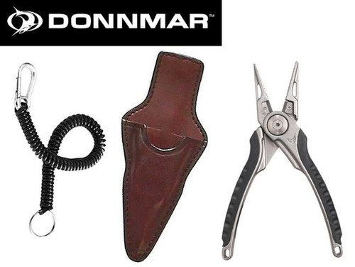 Donnmar Checkpoint CP900 Plier Set w/ Leather Holster and Lanyard