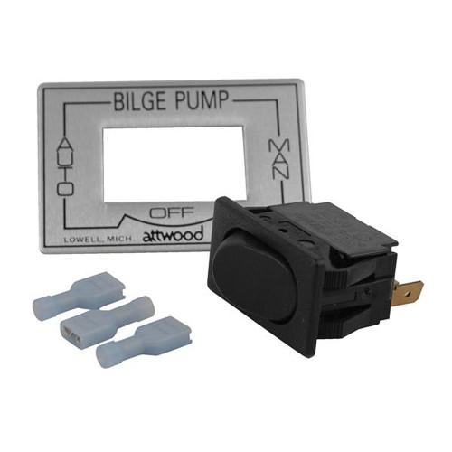 Attwood 3-Way Auto\/Off\/Manual Bilge Pump Switch