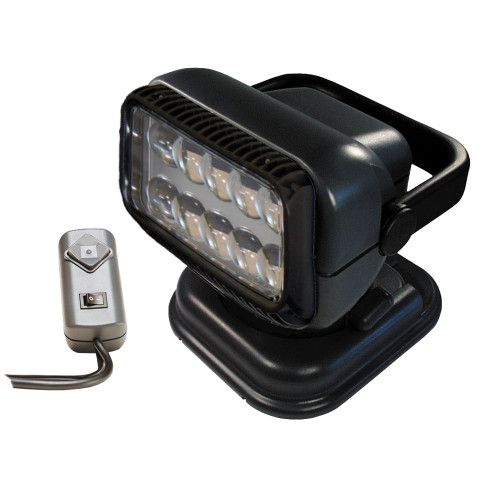 Golight Portable RadioRay LED w\/Wired Remote - Grey