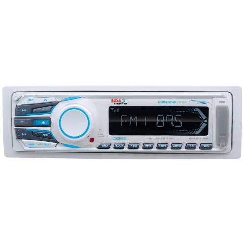 Boss Audio MR1308UAB MP3\/AM\/FM\/USB\/SD Bluetooth Receiver
