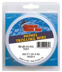American Fishing Wire Monel Trolling Wire 30LB 300/' Single Strand