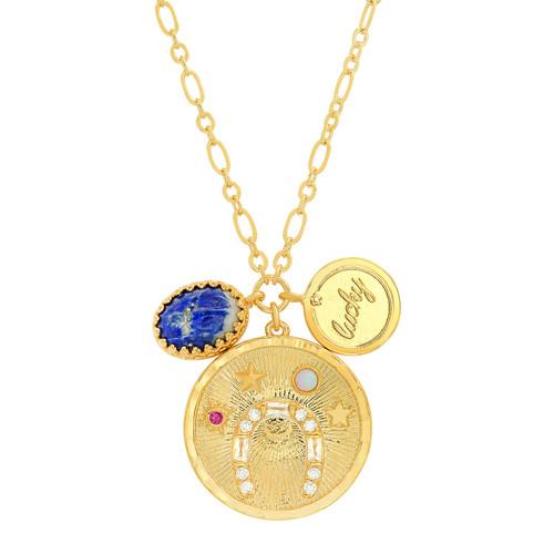 Lucky Coin Pendant