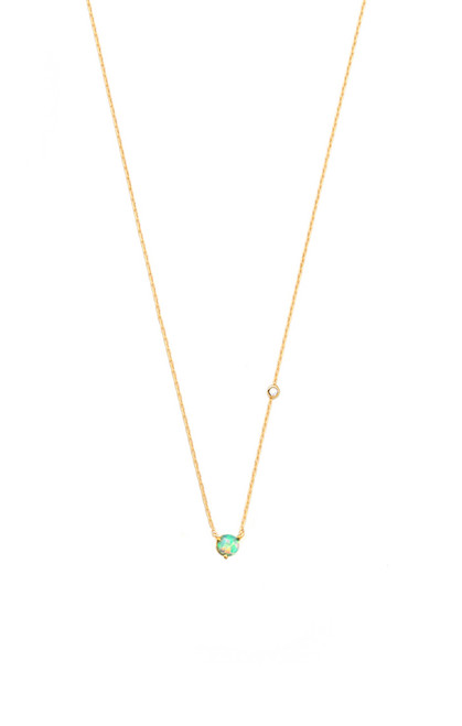 Single Opal Necklace