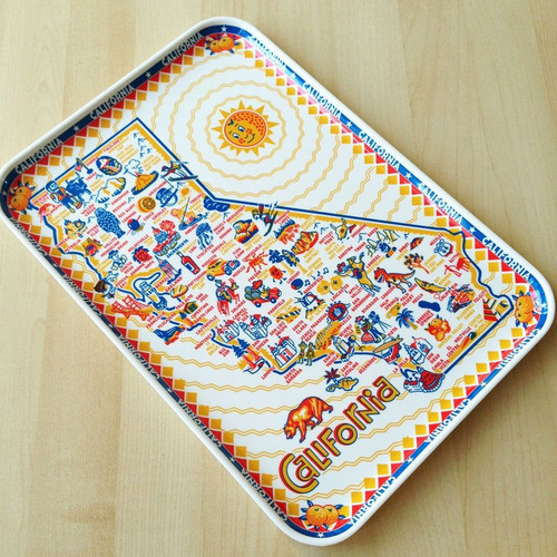 California Melamine Tray
