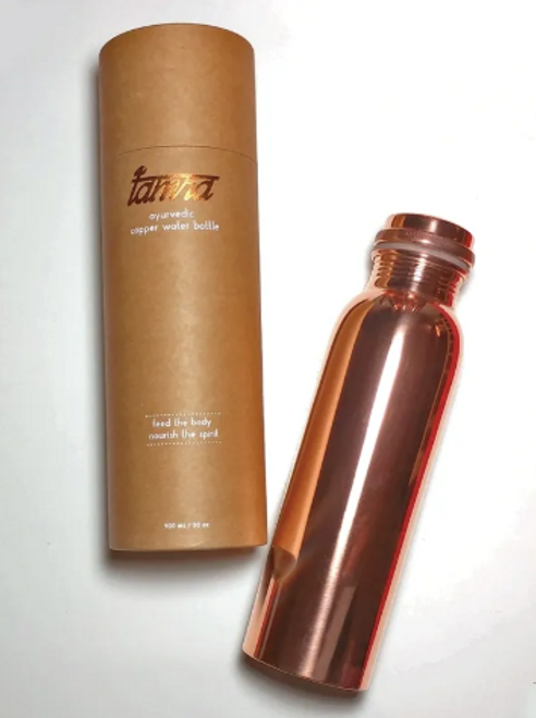 Tamra Ayurvedic Copper Water Bottle - Plain