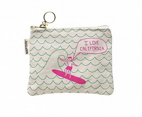 I Love California Coin Purse