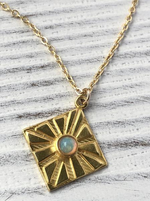 Golden Daze Necklace
