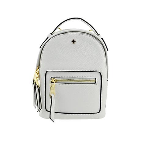 Peta & Jain - Zoe Mini Backpack, White