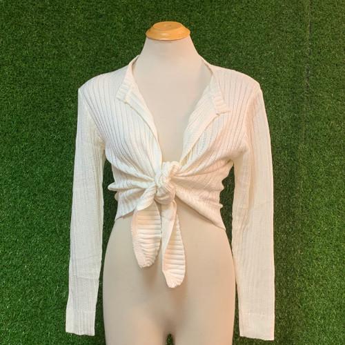 Sweet Talk Knit Tie Top