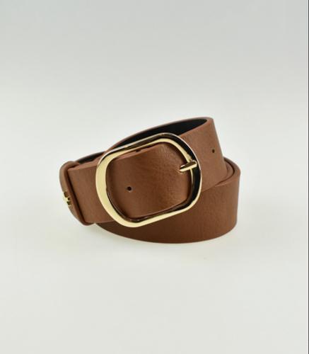 Peta + Jain - Roxie Belt, Tan/Gold