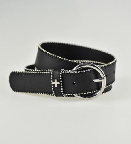 Peta + Jain - Sara Belt, Black