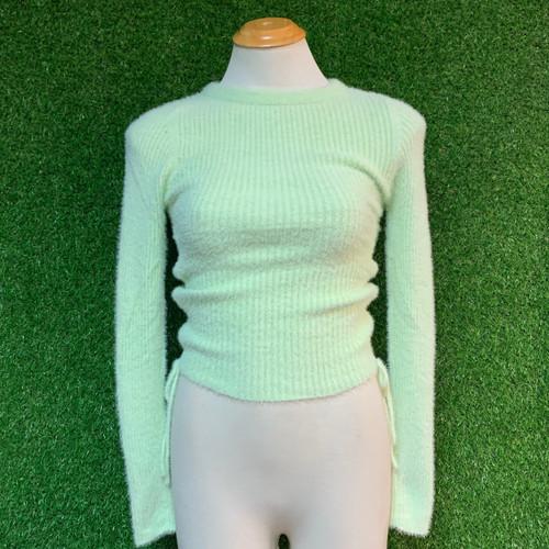 Faun Knit Top, Mint