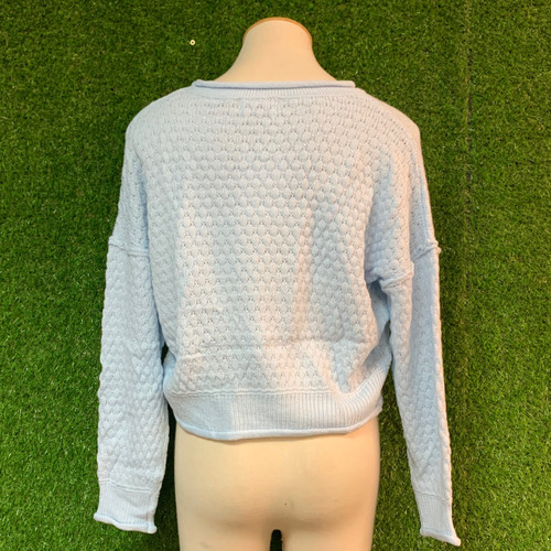 Day To Day Knit Top, Powder Blue