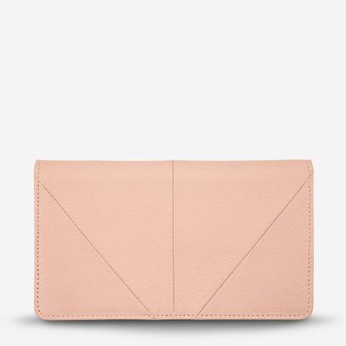 Status Anxiety - Triple Threat Wallet, Dusty Pink