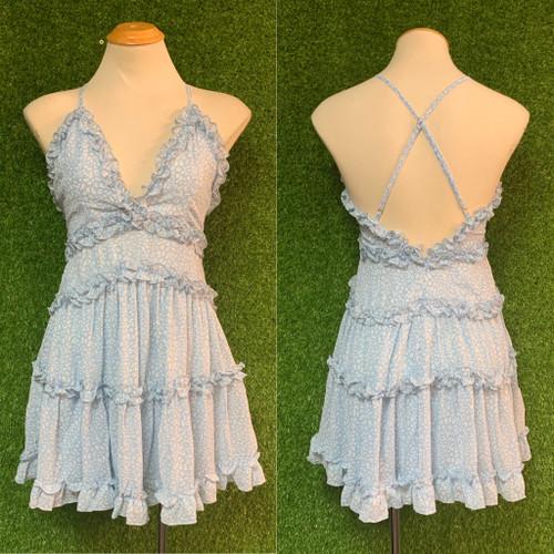 Mimosa Dress, Blue