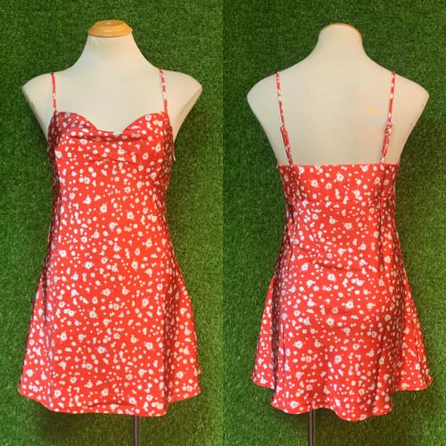 Sleigh It Dress, Red
