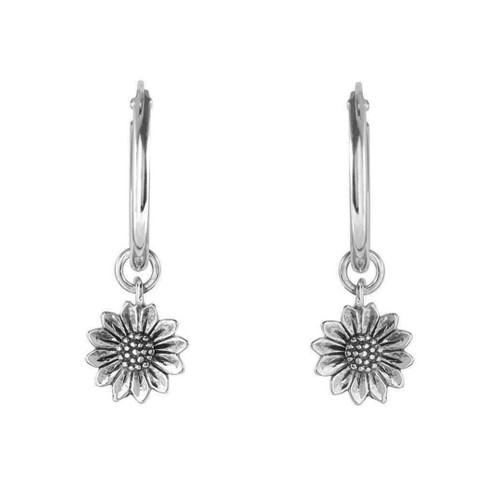 Midsummer Star - Delicate Sunflower Sleepers, Silver