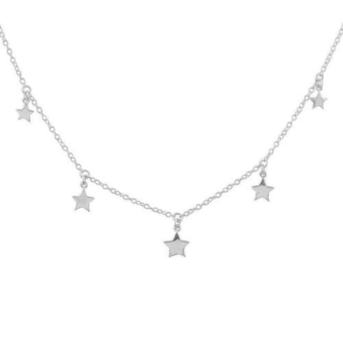 Midsummer Star - Star Light Choker, Silver