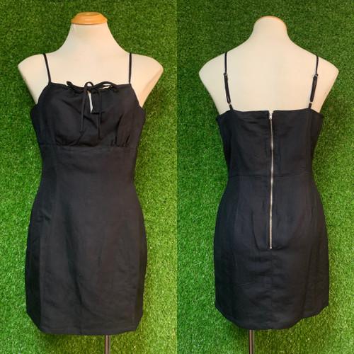 Jorge - Cadence Mini Dress, Black