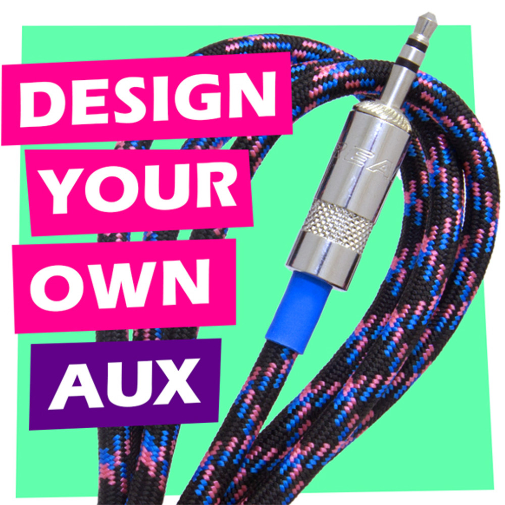 Design Your Own AUX Cable