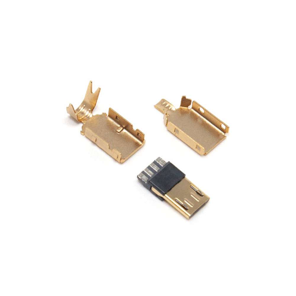 Micro-USB Gold Connector
