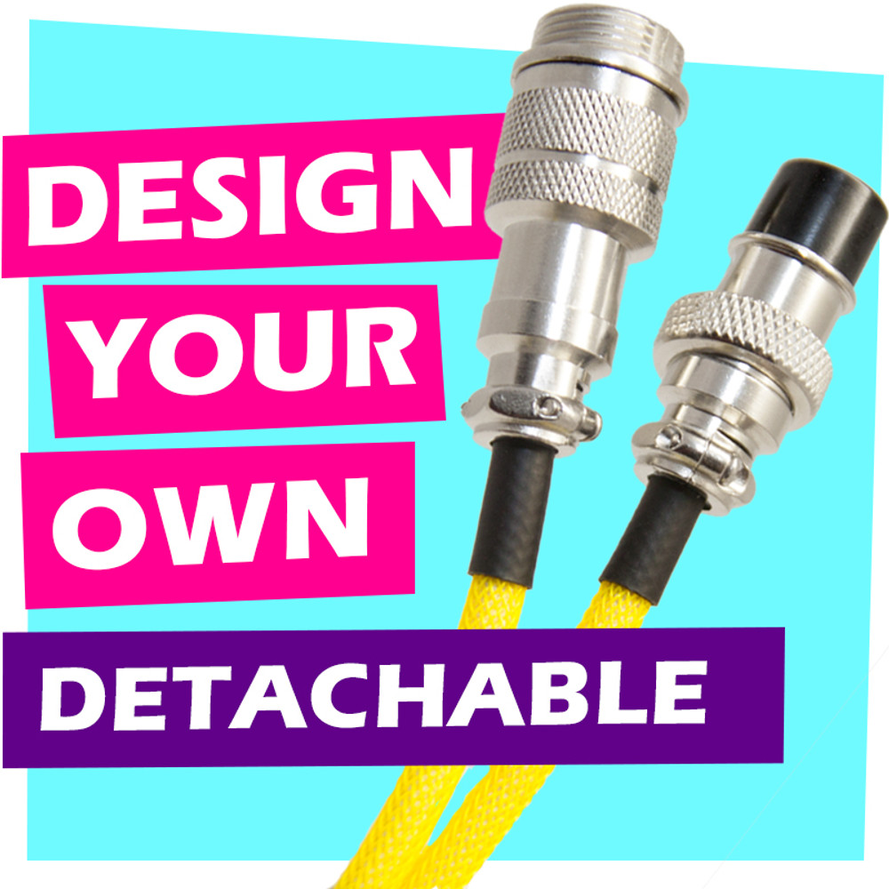 Design-Your-Own Detachable USB Cable