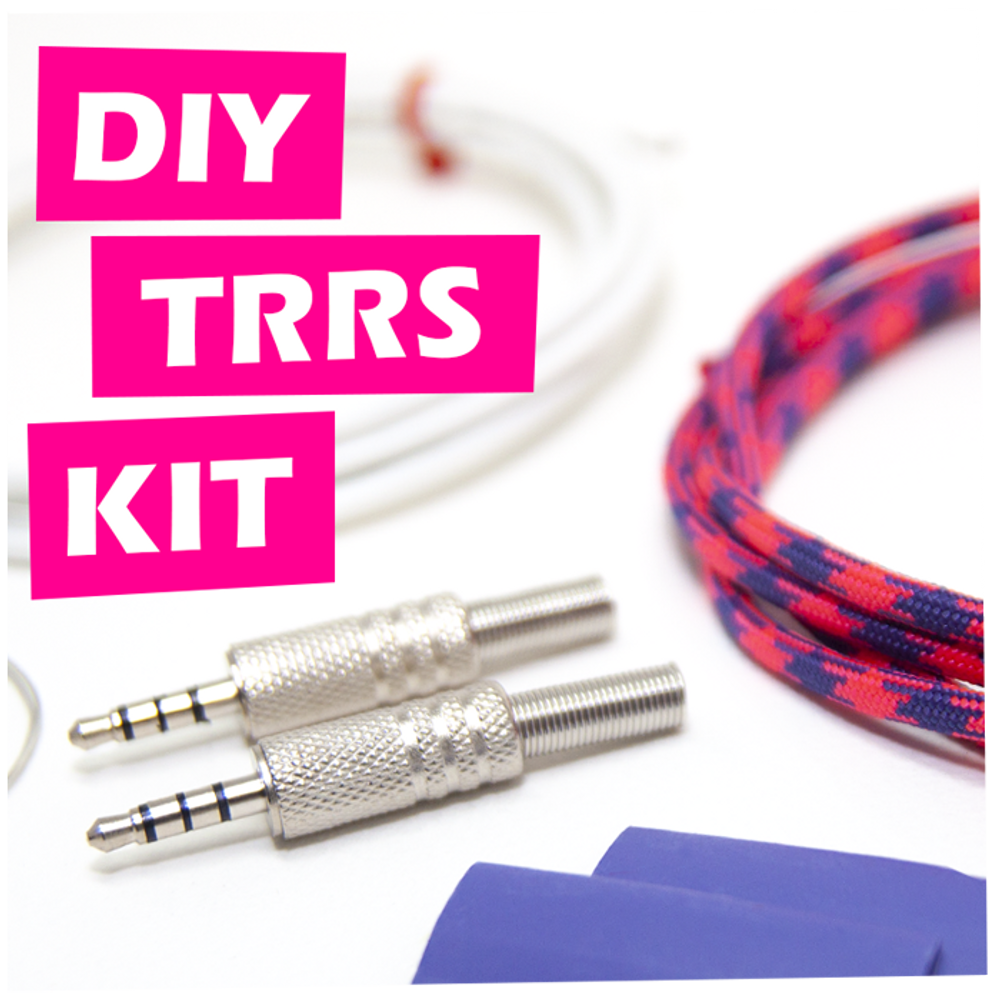 DIY TRRS Cable Kit
