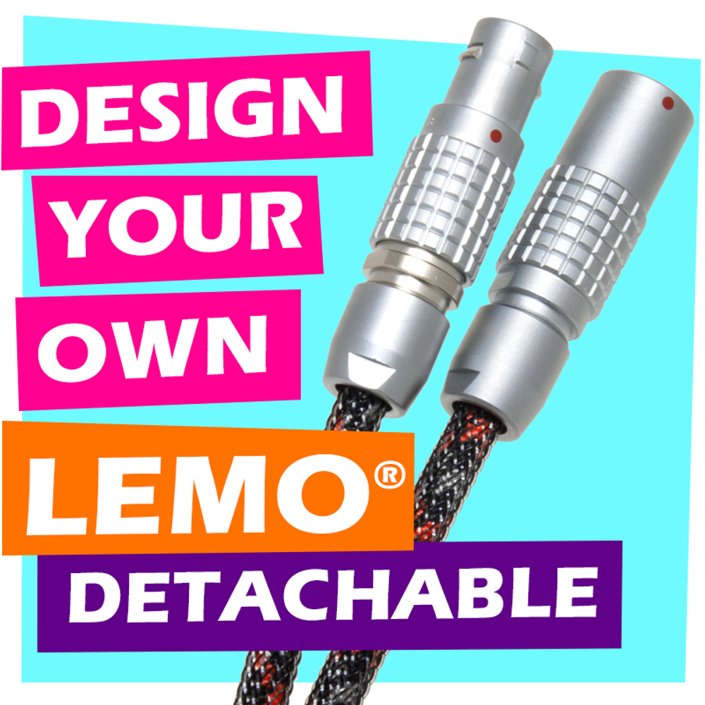 Design-Your-Own LEMO® Detachable Cable