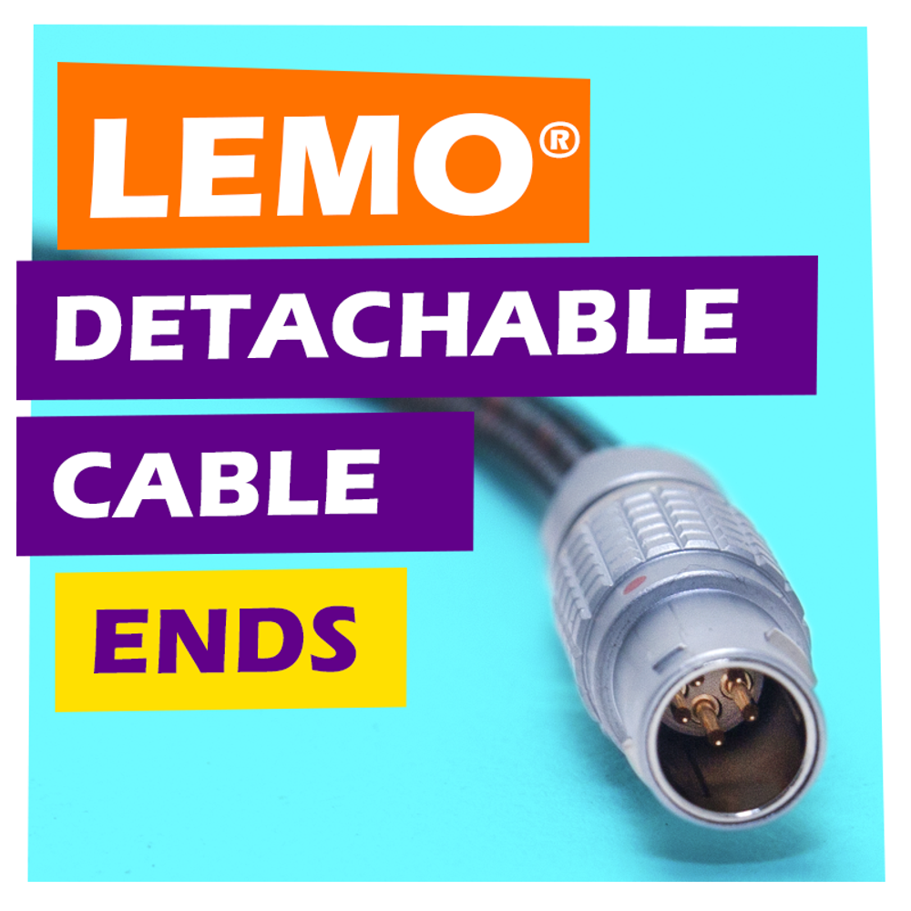 LEMO® Detachable Cable Device Ends