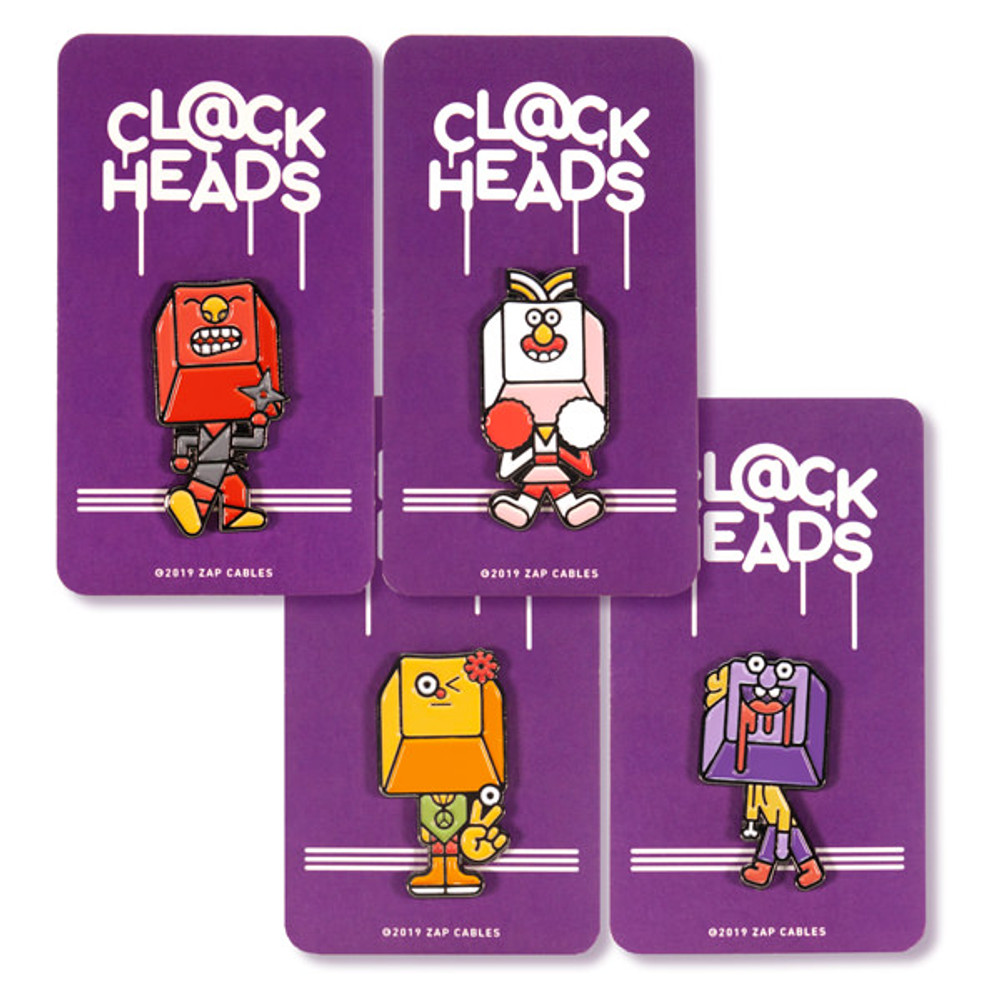 Clack Heads: Full Set