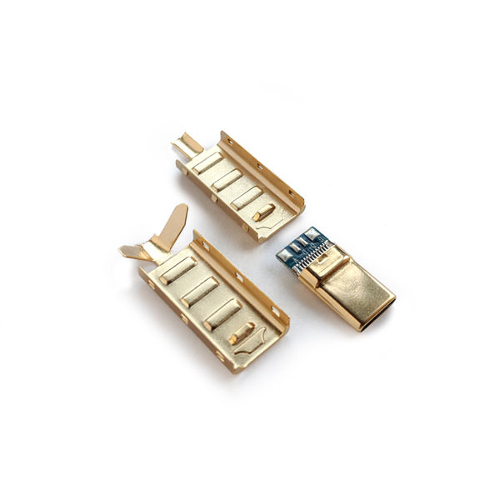 USB-C 2.0 Gold Connector