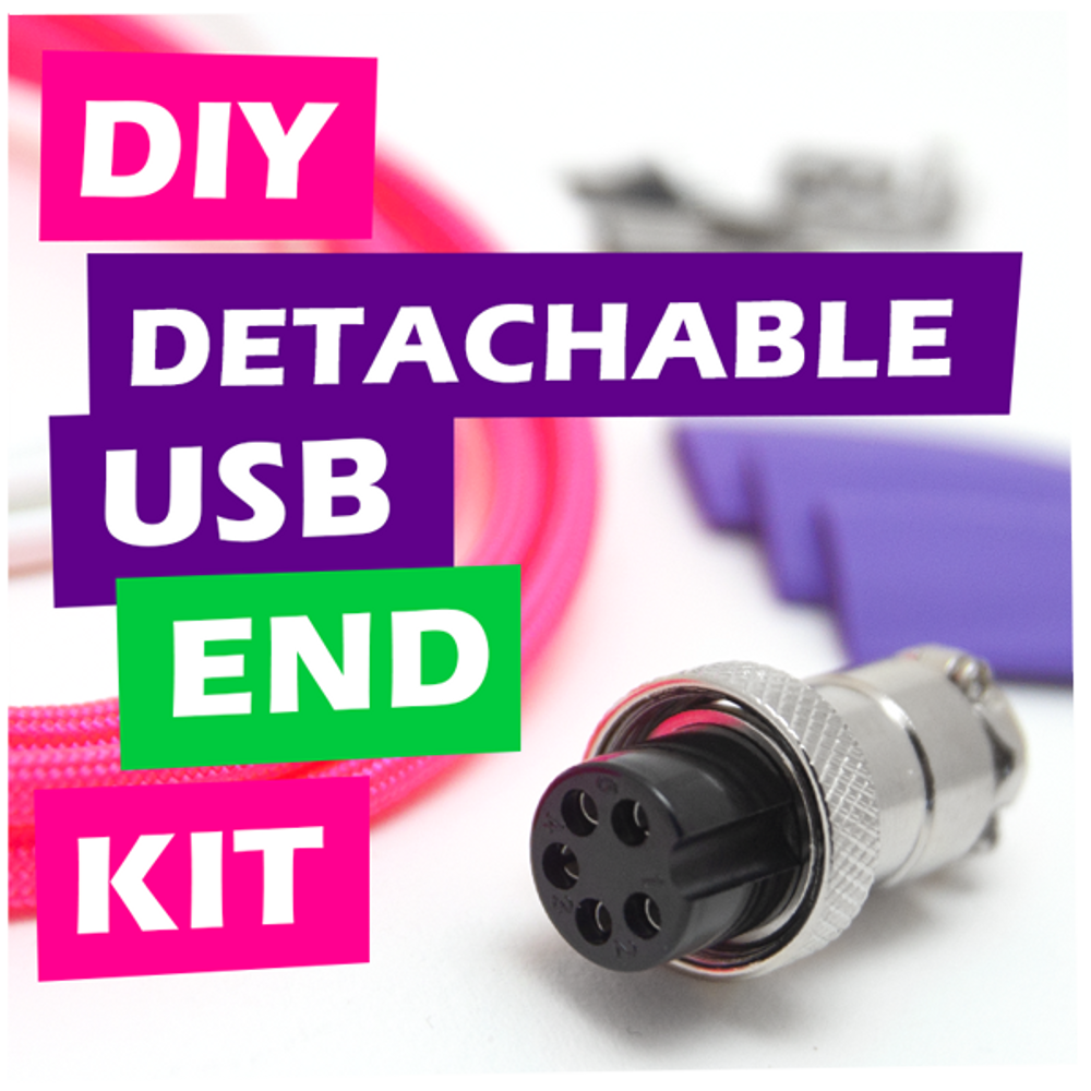 DIY Detachable USB Cable End Kit