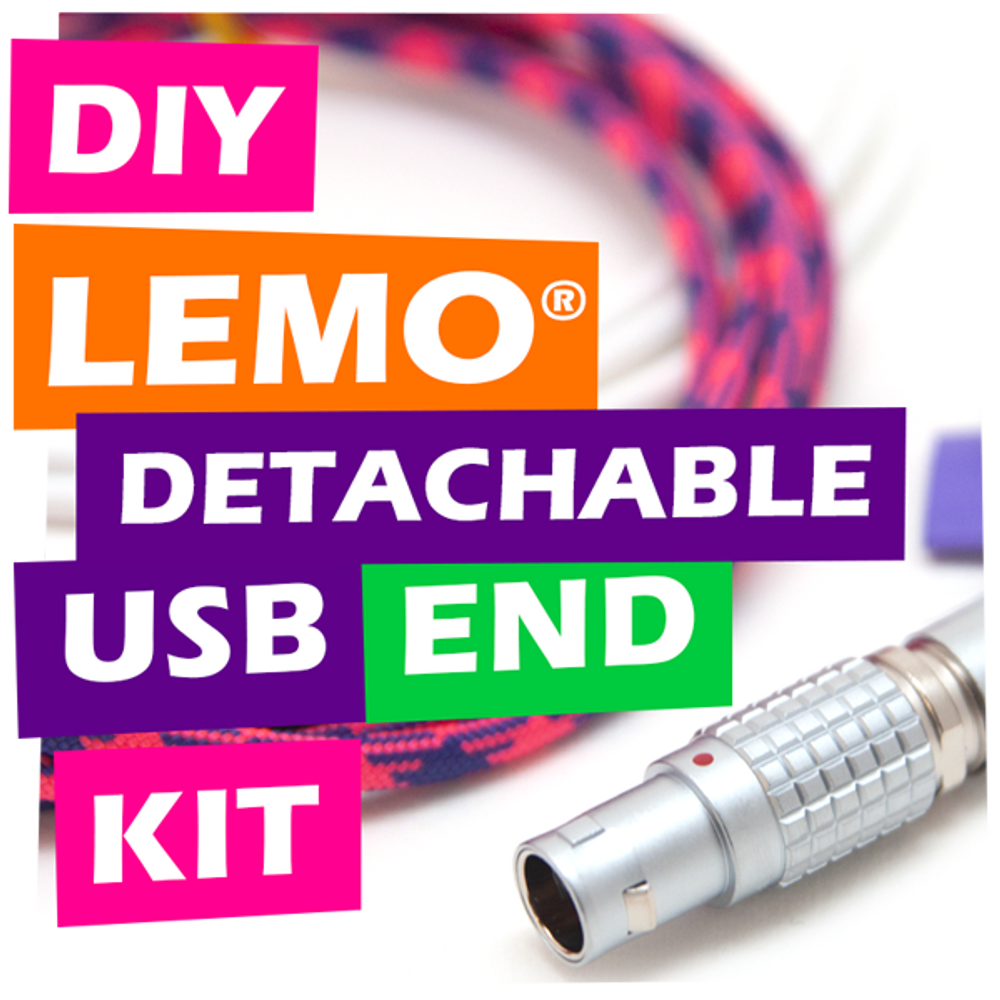 DIY LEMO® Detachable USB Cable End Kit