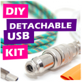DIY Detachable USB Cable Kit