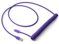 "Purple ""Old School"" Retractable Cable"