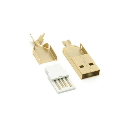 USB Type-A Gold Connector